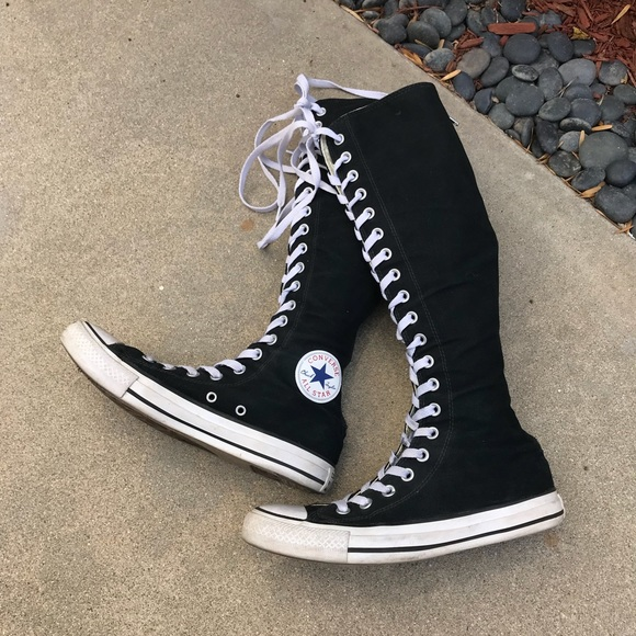 d87e1a30052ba7 Converse Shoes -  Converse  All Star Lace Up Knee High Sneakers